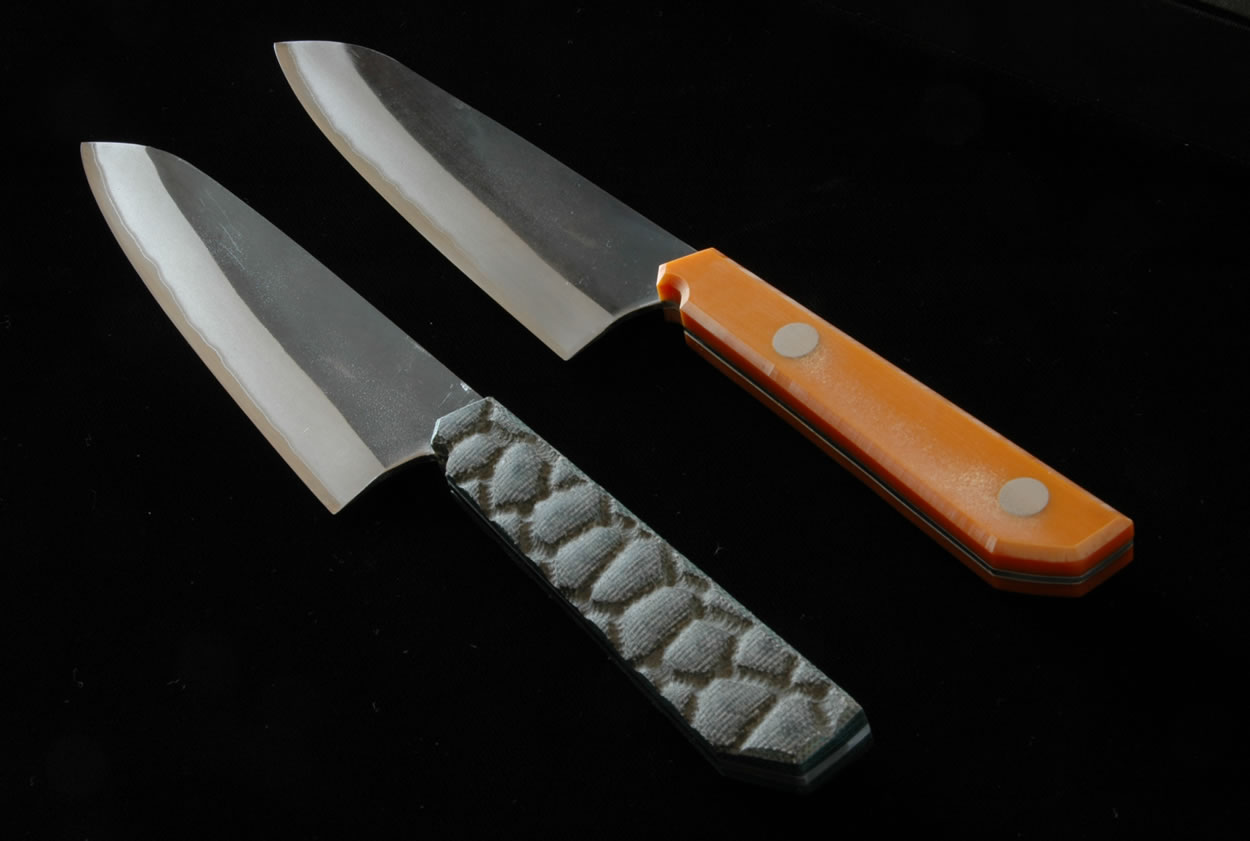 Chef 39 S Knife Kurouchi Gyuto 180mm With Western Handle