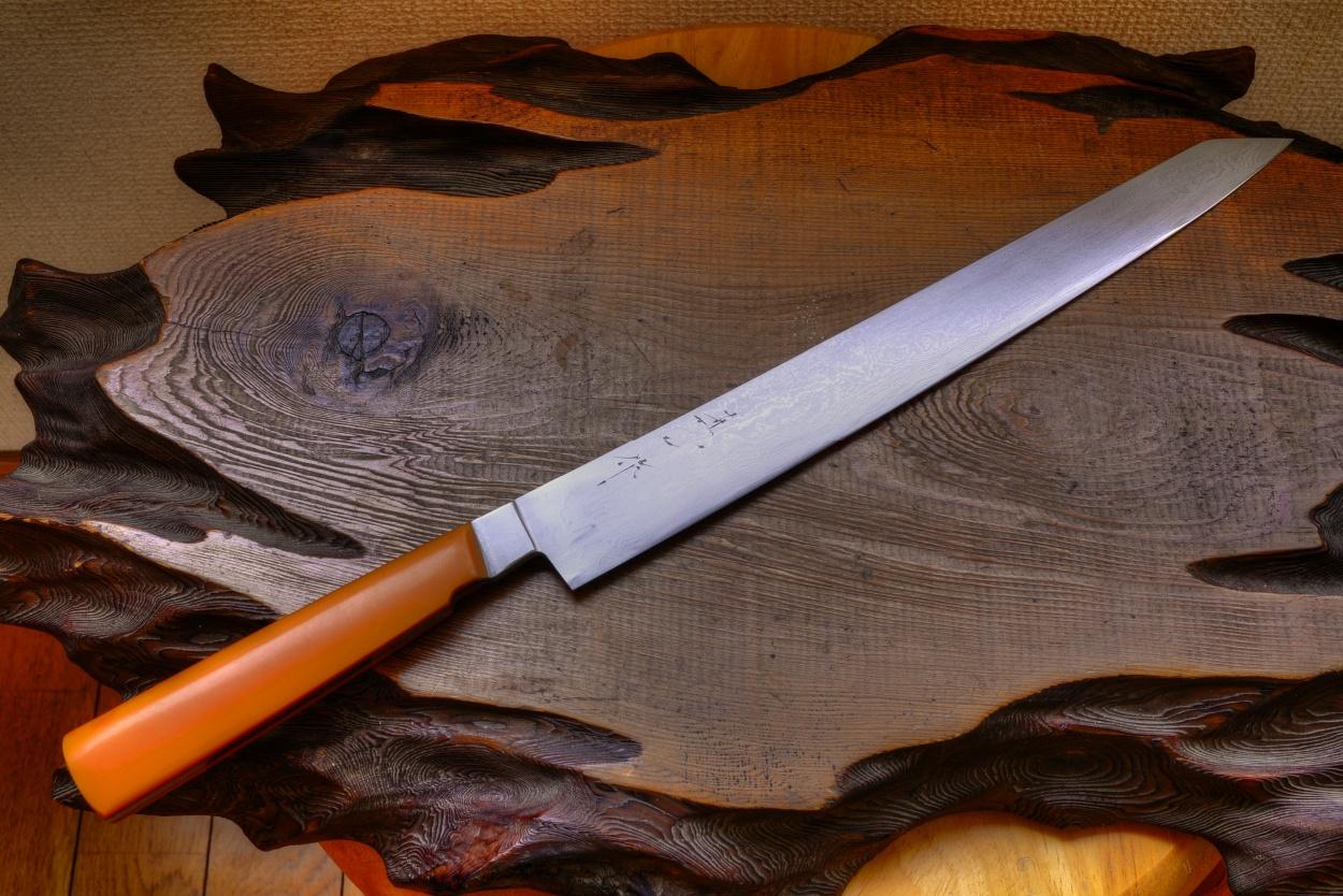 Western Handle Japanese Hand Forged Knife Watanabe Blade