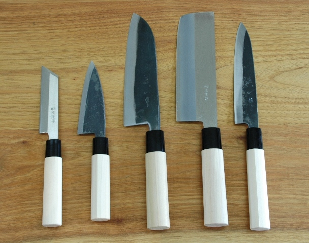 handed kitchen knives japanese traditional knife sushi knives watanabeblade com